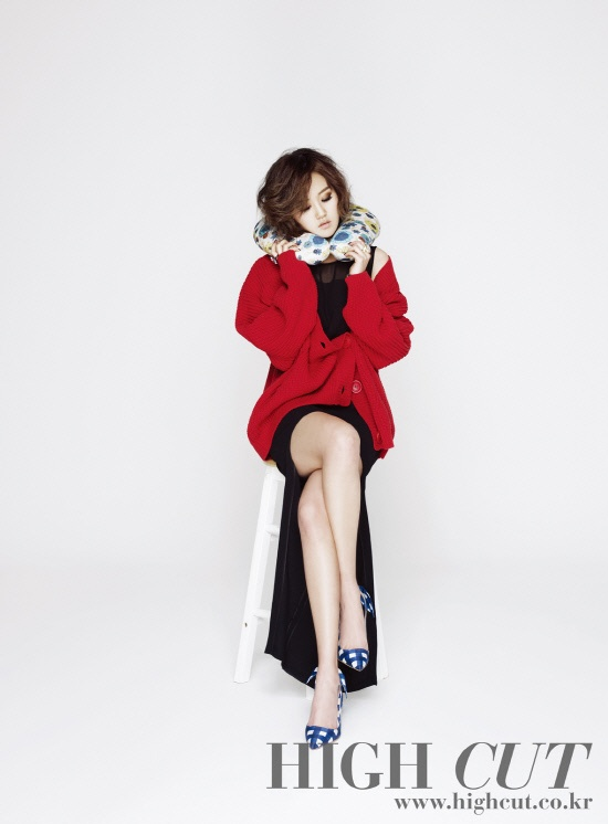"4minute Heo Gayoon for ""High Cut"""