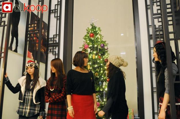JYP Tree Lighting Ceremony (Wonder Girls)