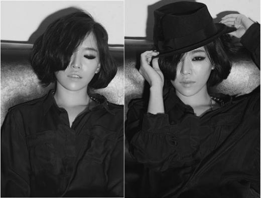 Ga In's Sexy Black and White Photos!