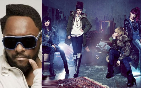 Will.i.am Intends to Make 2NE1 Global Superstars