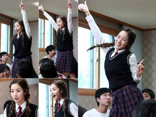 "Park Min Young Shows Off 80's Disco Dance for ""Glorious Jane"""