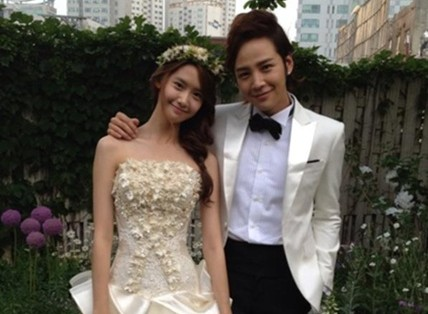 "Jang Geun Suk and YoonA Say Goodbye to ""Love Rain"""