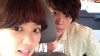 Donghae and Yoon Seung Ah