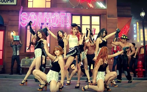 G.NA Makes Her Comeback Performances on Music Core