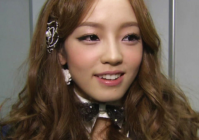 Kara's Goo Hara Apologizes to Infinite Fans for Cutting Off Infinte on SBS Inkigayo