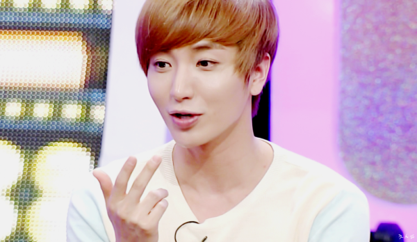 "Leeteuk on the June 12 2012 Broadcast of ""Strong Heart"""