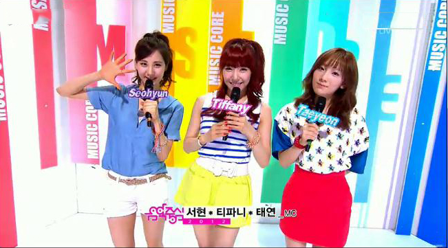MBC Music Core Performances 06.23.12