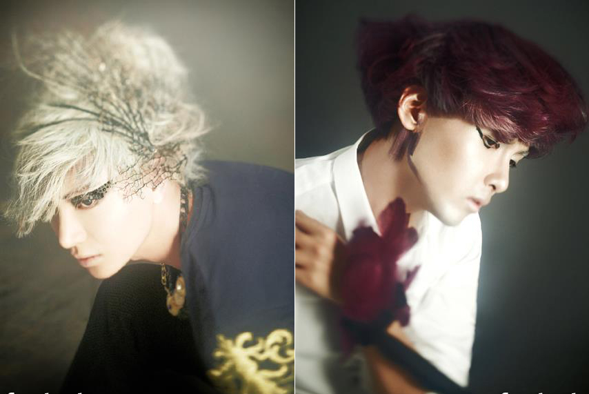 Teaser Photos of Leeteuk and Ryeowook Revealed