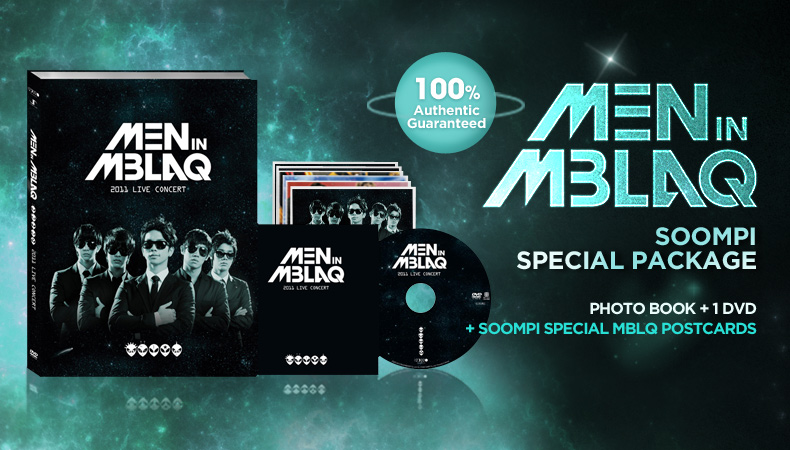 [Soompi Shop] Men in MBLAQ Soompi Limited Edition Package Special Deal!