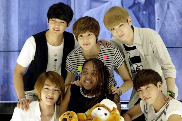 SHINee with Donika Sterling