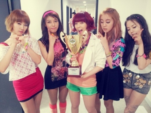 "Wonder Girls Win First Mutizen for ""Like This"""
