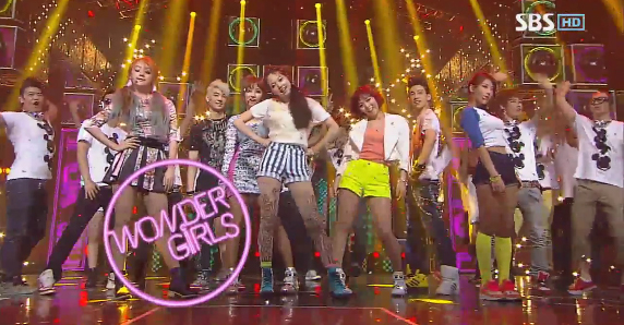 "Wonder Girls Perform ""Like This"" on Inkigayo"