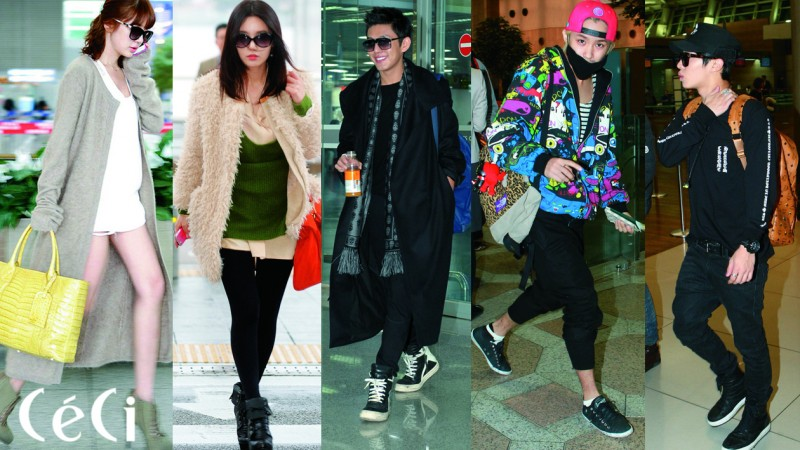 "[Ceci] Celebrity Airport Fashion's ""IT"" Item: ft. Yoon Eun Hye, FT Island, BEAST & More"