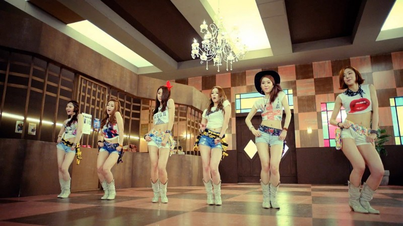 "Dal Shabet Releases MV Teaser for ""Mr. Bang Bang"""