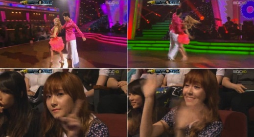 "Jessica Goes to See Hyoyeon on ""Dancing With The Stars 2"""