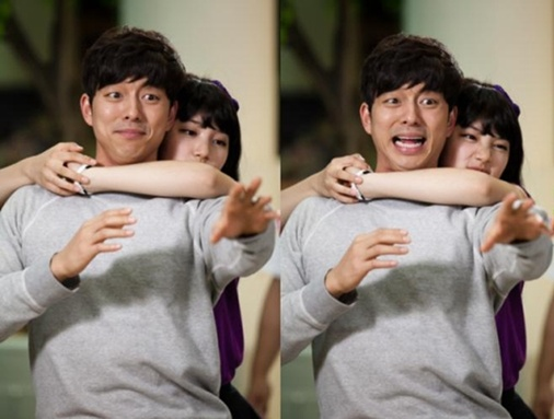 "Gong Yoo and Suzy from ""Big"" BTS Making Film"