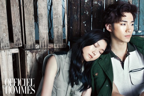 "2PM's Junho is Lyrical and Masculine for ""L'Officiel Hommes"""