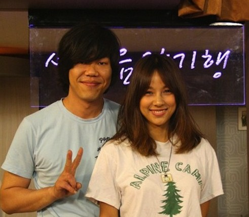 Lee Hyori and Lee Sang Soon on Lee Hyori's Golden 12
