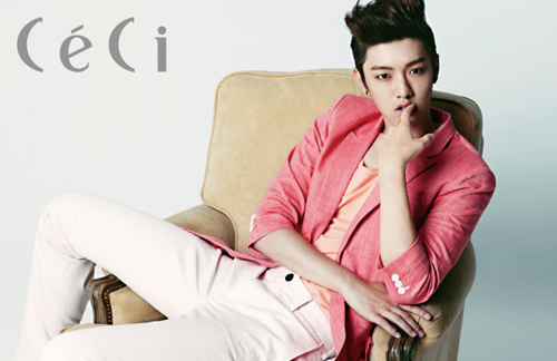 "Shin Won Ho from Cross Gene and ""Big"" Displays Multiple Charms for ""CeCi"""