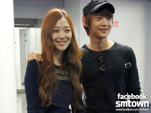 "SHINee Minho and f(x) Sulli's Confirmed for Lead Roles of ""To the Beautiful You"""
