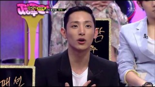 "Lee Soo Hyuk on ""Strong Heart"" (June 12 2012)"