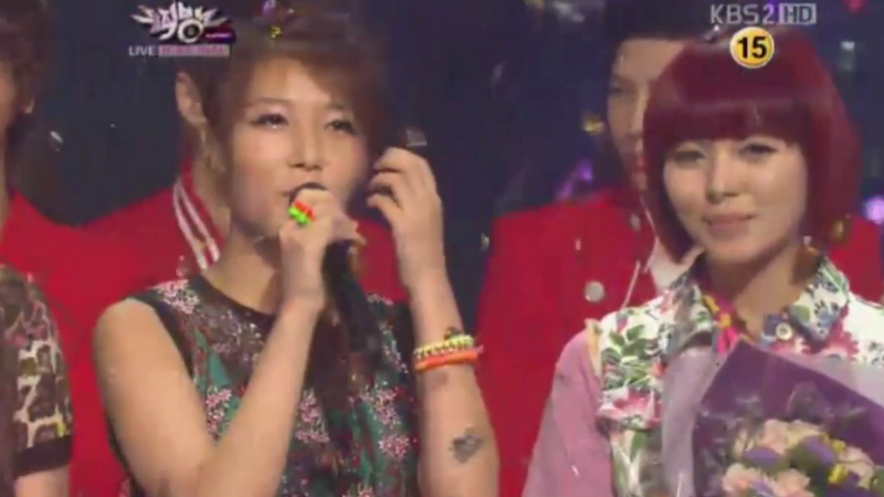 KBS Music Bank Performances 06.15.12