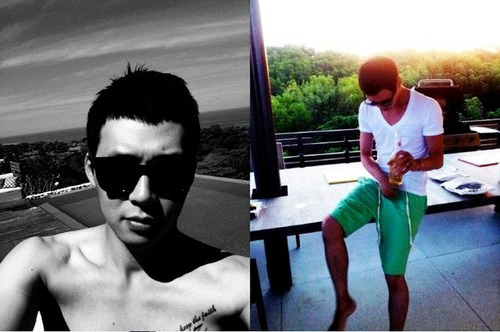 Park Yoochun Updates Fans with Short New Haircut While On Vacation