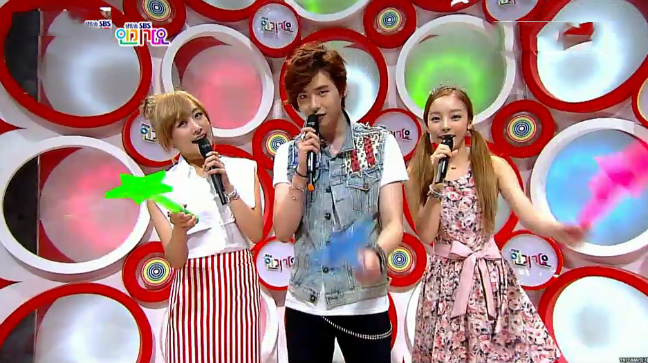 SBS Inkigayo Performances 07.08.12