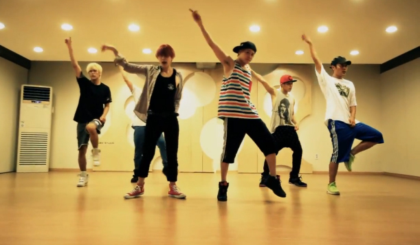 "BEAST Releases Dance Practice and BTS Video for ""Beautiful Night"""