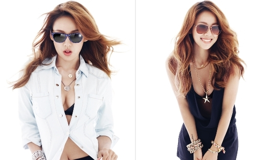 Lee Hyori Looks Sexy in Oakley Shades for Vogue