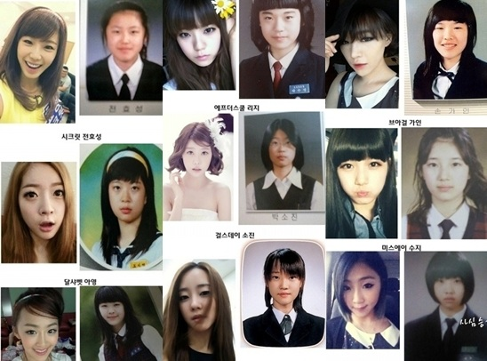 Girl Group Yearbook Photos – Who Changed the Most?