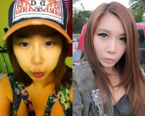 Brown Eyed Girls' JeA Wearing the Soompi Shop Cap!