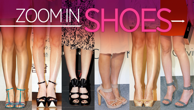 [Ceci] Zoom in Shoes ft. miss A's Suzy, Lee Min Jung, Lee Hyori, and More!