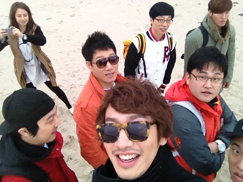 Kwang Soo Shares a Photo to Celebrate Running Man's Two Year Anniversary
