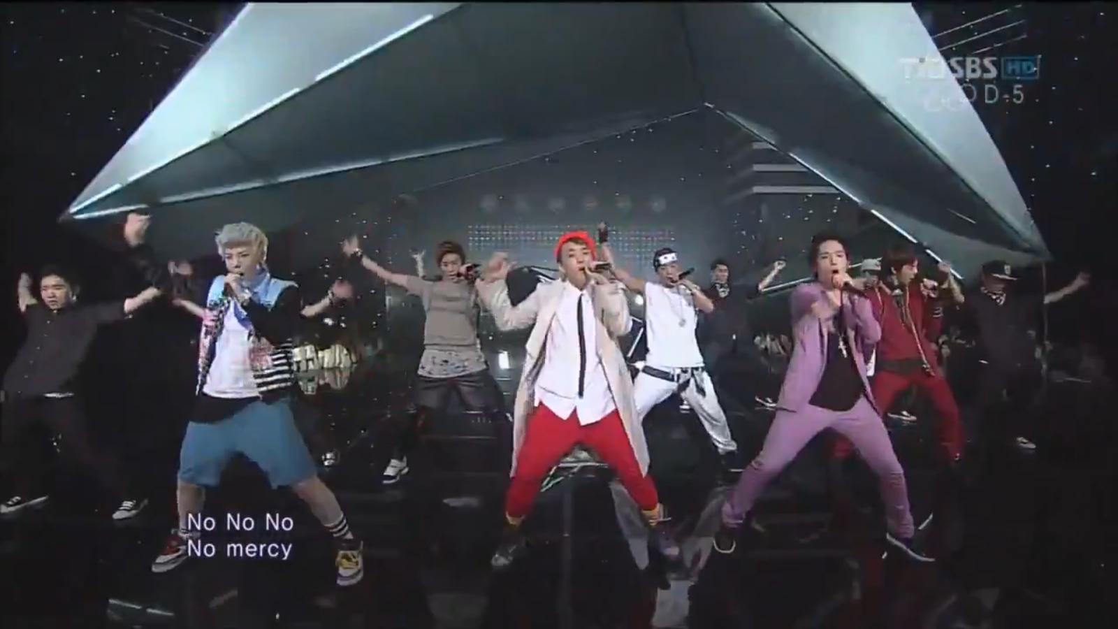 20120723_BAP_NoMercy_Inkigayo