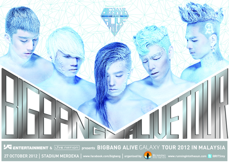 "Find Out How to Get Tickets to the ""BIGBANG Alive Galaxy Tour 2012 Malaysia"""