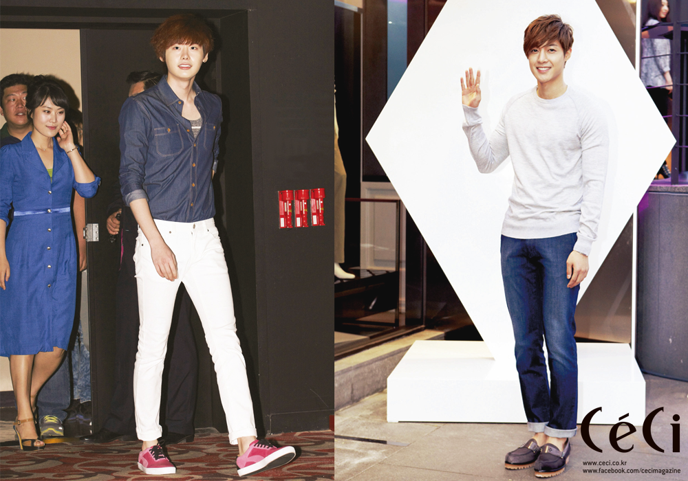[Ceci] Kim Hyun Joong Shows How to Wear Summer Denim
