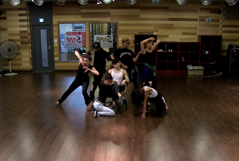 Jo Kwon Animal dance prac