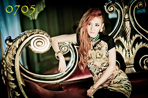 "2NE1's ""I LOVE YOU"" Sandara Park Teaser, 15 Seconds Revealed!"
