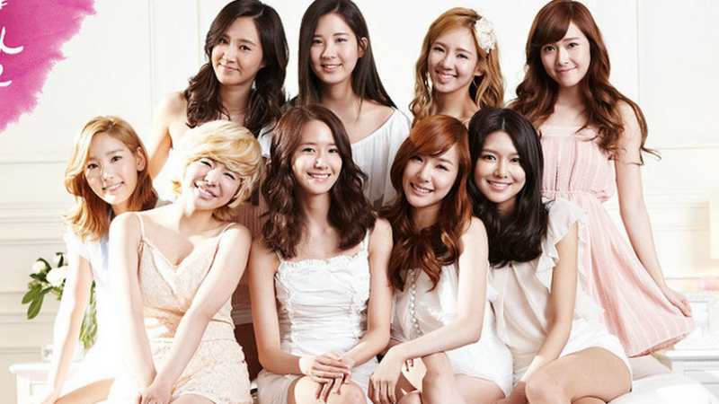 Girls' Generation Flaunt Their Nine Charms