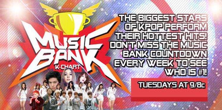 "Myx TV to Air ""Music Bank"" in the U.S."