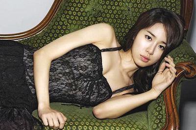 Yoo In Na's Photo Shows Off her Voluminous Body