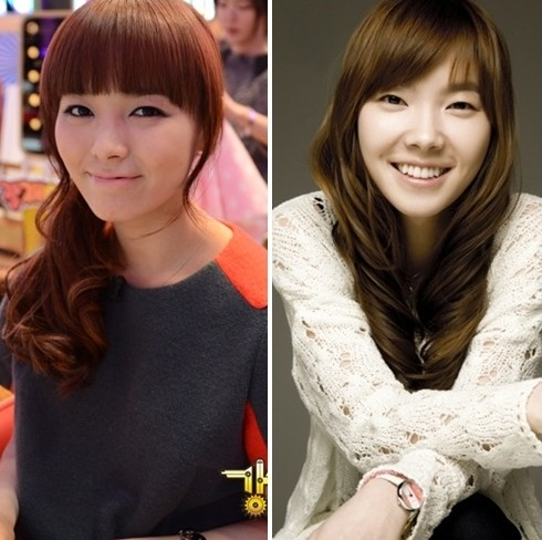 Comedian Shin Bora and Wonder Girls Sun Ye are Best Friends