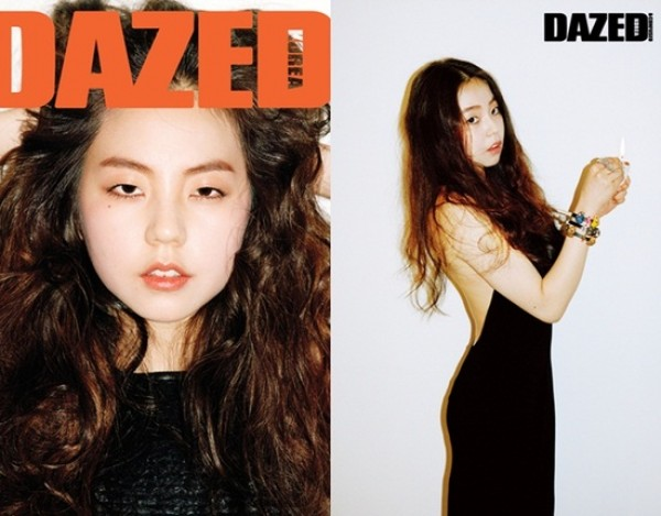 Wonder Girls' Sohee on the Cover for Dazed & Confused