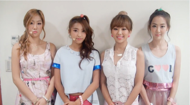 SISTAR Shares A Greeting Video for Their Official Facebook Page