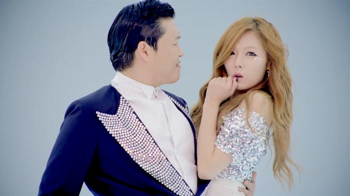 """Gangnam Style"" Hyuna Ver. MV Released"