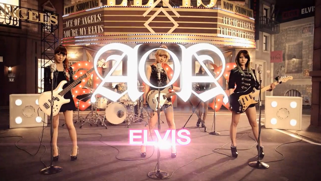 "AOA Releases Band Version MV for ""Elvis"""