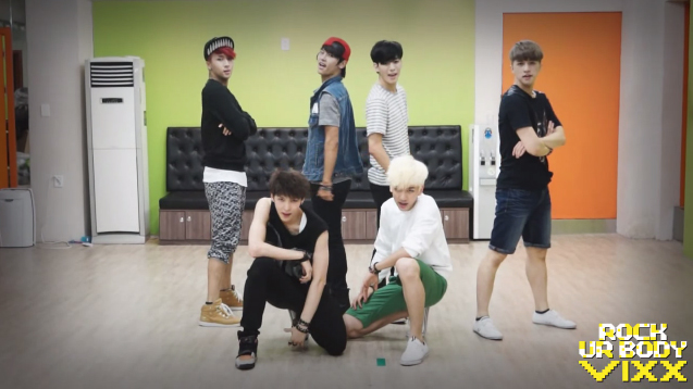 "VIXX Reveals Dance Practice for ""Rock Ur Body"""