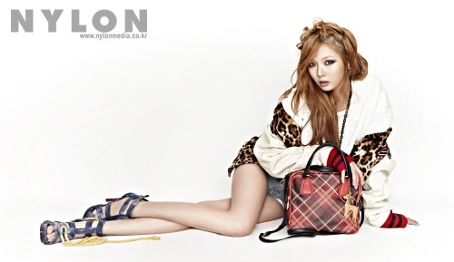 "HyunA Looks Funky and Sexy for ""Nylon"""