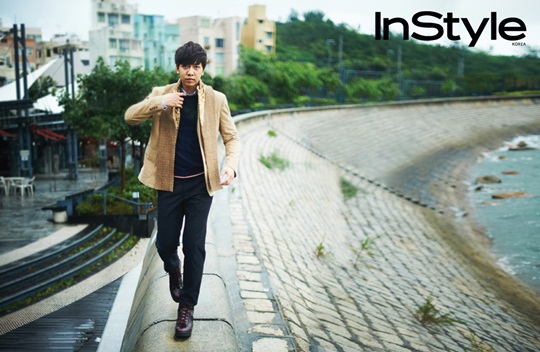 Lee Seung Gi is All Set for Fall with InStyle Magazine